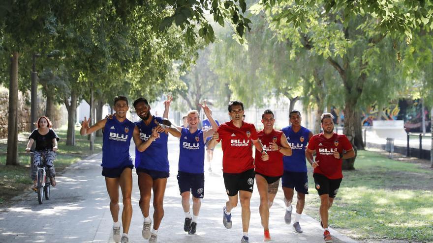 El Valencia completa 14 sesiones trabajo en seis primeros días pretemporada
