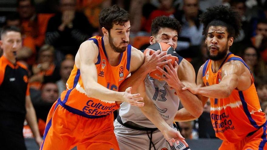 El Valencia Basket decide no renovar a Guillem Vives
