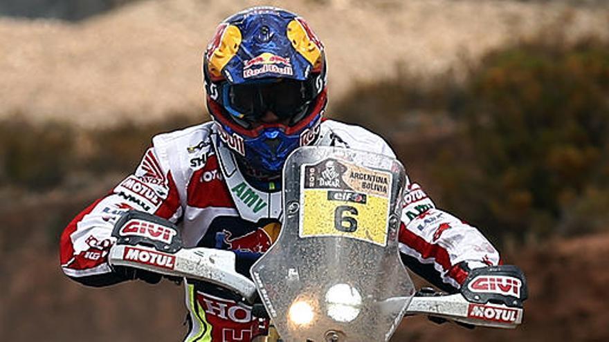 Barreda recorta terreno y Sainz alcanza el tercer puesto del Dakar