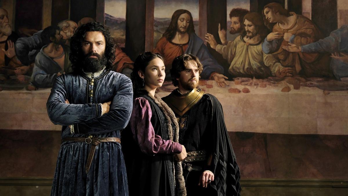 Aidan Turner, un Leonardo da Vinci marginal y homosexual en la serie de RTVE.