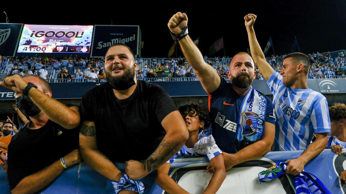 Las imágenes del Málaga CF - Girona