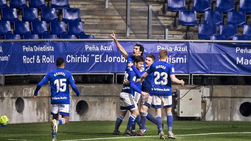 La crónica del Oviedo: El coraje despierta al equipo azul (2-2)