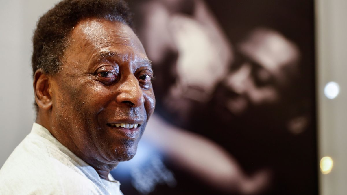 El exjugador de fútbol, Edson Arantes do Nascimiento 'Pelé'.