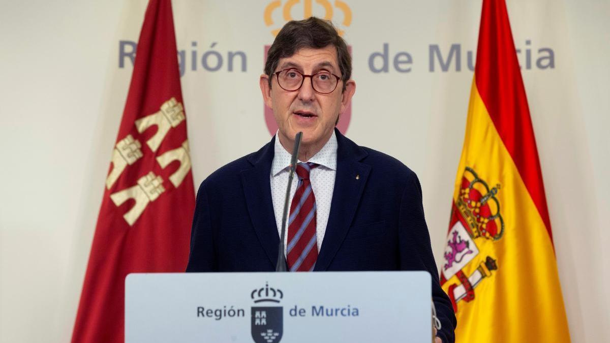 EN DIRECTO | Villegas informa de la actualidad con respecto al coronavirus en la Región