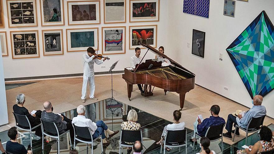 Recital de violín y piano para viajar por la geografía española