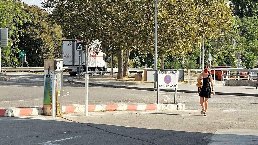 Figueres és a un pas de completar la nova porta d'accés per al vianant fins al centre