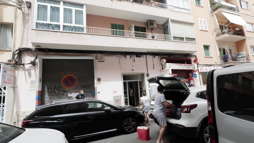 Cort ordena apuntalar los dos edificios de s'Escorxador desalojados por riesgo de derrumbe