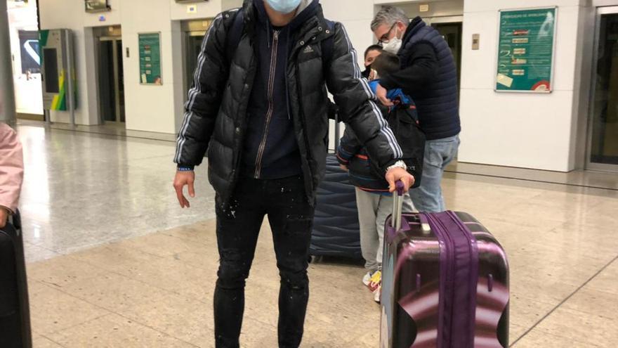 Alexander González ya está en Málaga