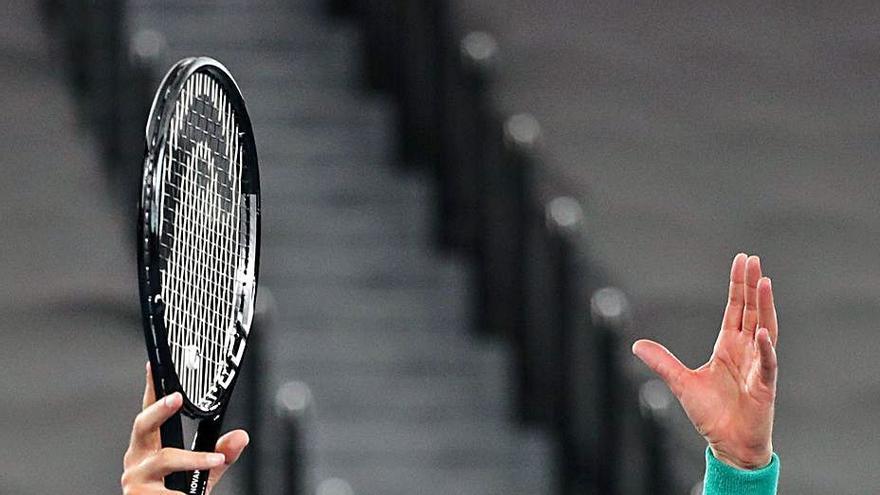 Djokovic saca su rabia ante Zverev