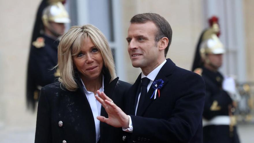 Conmemoración en París del fin de la Primera Guerra Mundial
