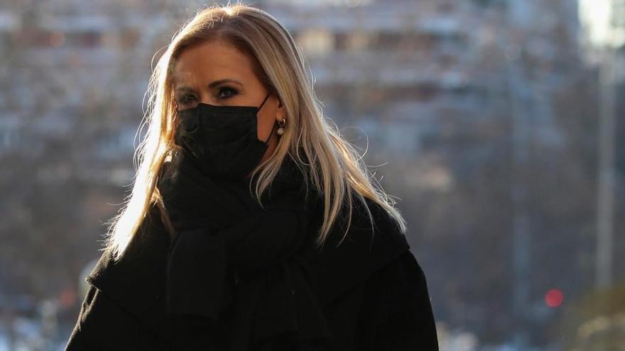 Turno de Cristina Cifuentes para declarar en el juicio sobre su máster