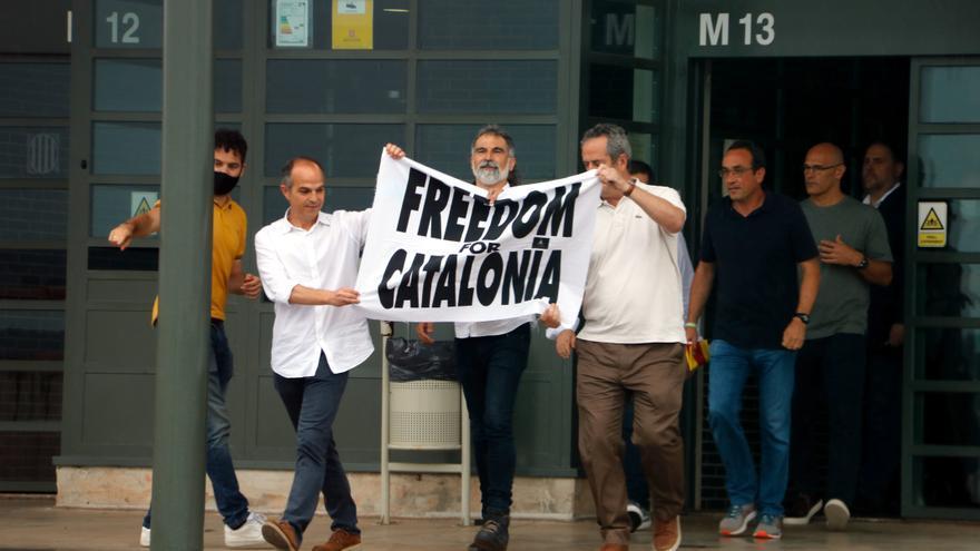 EN IMATGES | Sortida de la presó dels presos del procés