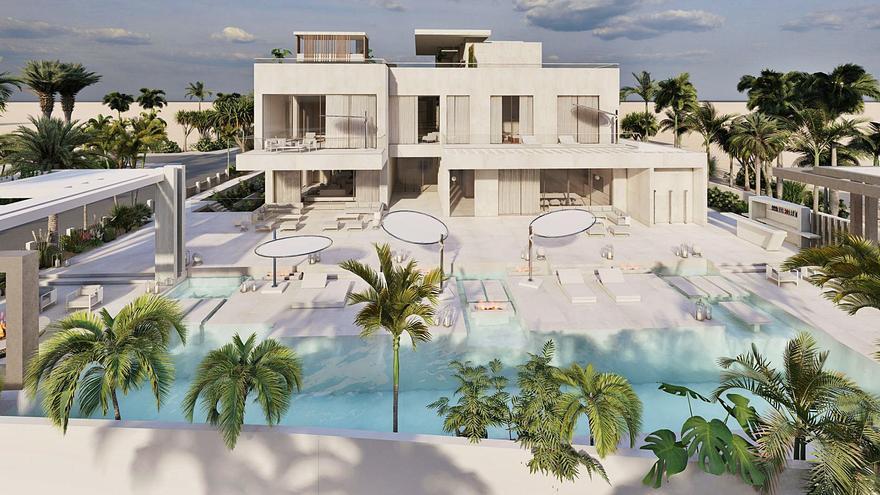 De Ibiza a Dubái para construir una vivienda de 5.200 m2