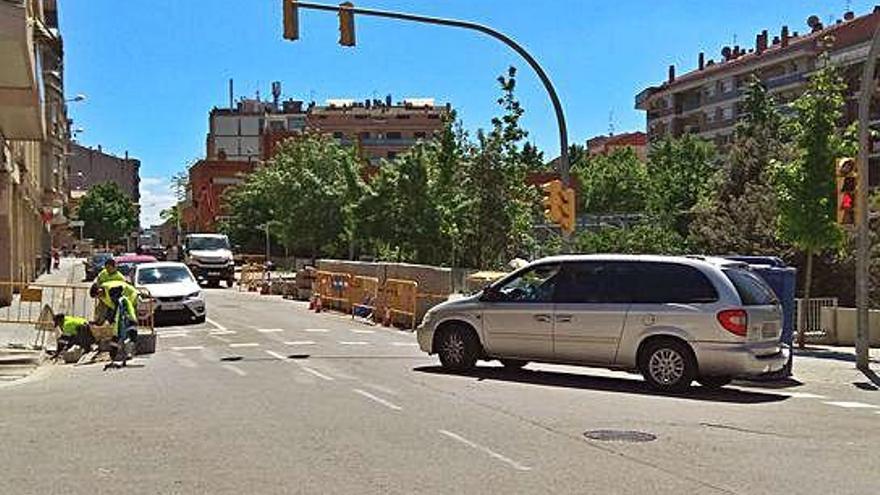 Reoberta l'avinguda Tudela en tots dos sentits per les Festes de Sant Jordi