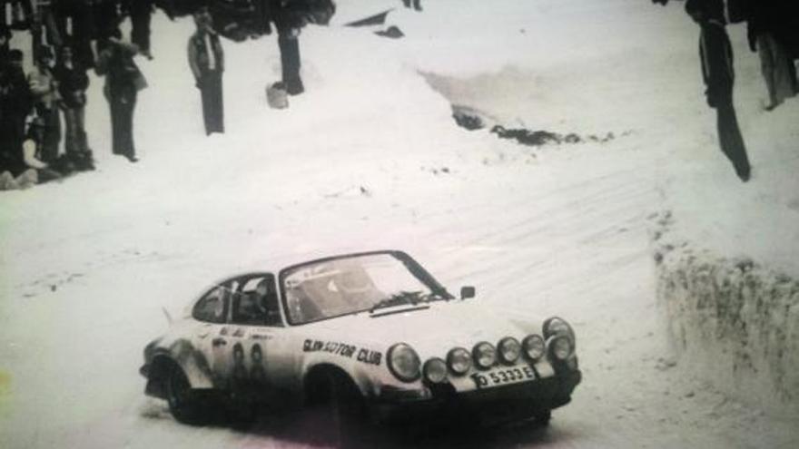 Gemar, Cueto, Suárez, Cima y Alonso, los asturianos del Rallye Montecarlo