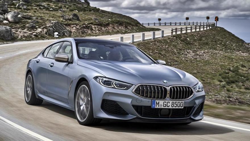 BMW Sèrie 8 Gran Cupè, esportivitat i luxe