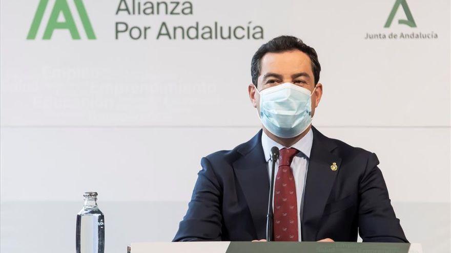 "Juanma Moreno pide respeto: ""Las estructuras territoriales no son atrezzo"""