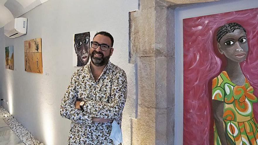 Xavier Gimbernat mostra el seu art optimista