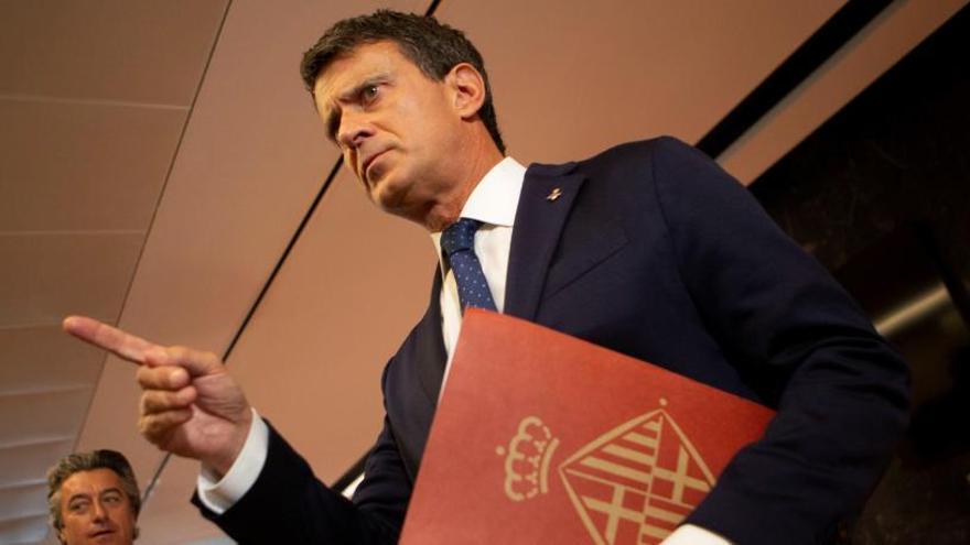 Manuel Valls, sobre crear un partit: «De moment no»
