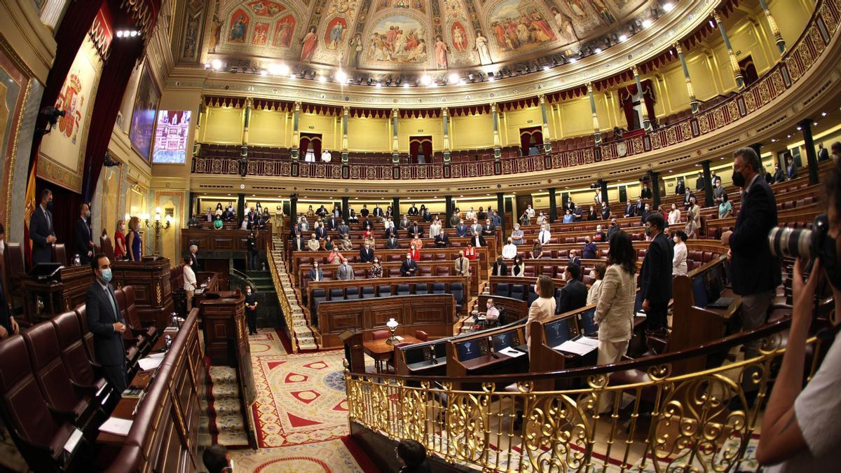 Una imagen del hemiciclo del Congreso.