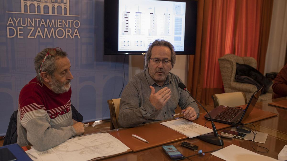 Romualdo Fernández y Francisco Guarido.