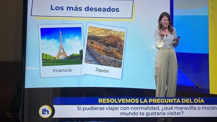 TVE se hace un lío con los rótulos en el programa de Mónica López