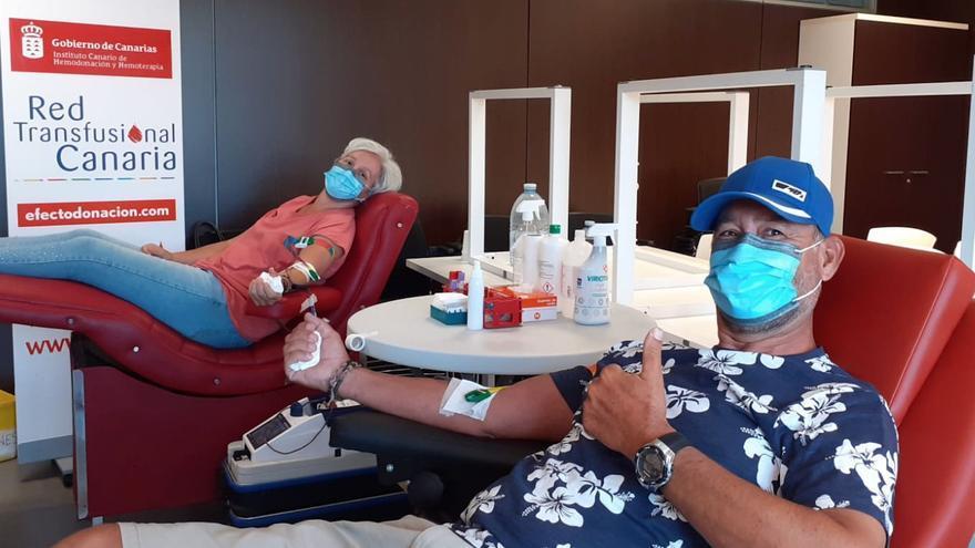 Sanidad acerca la donación de sangre a Mogán