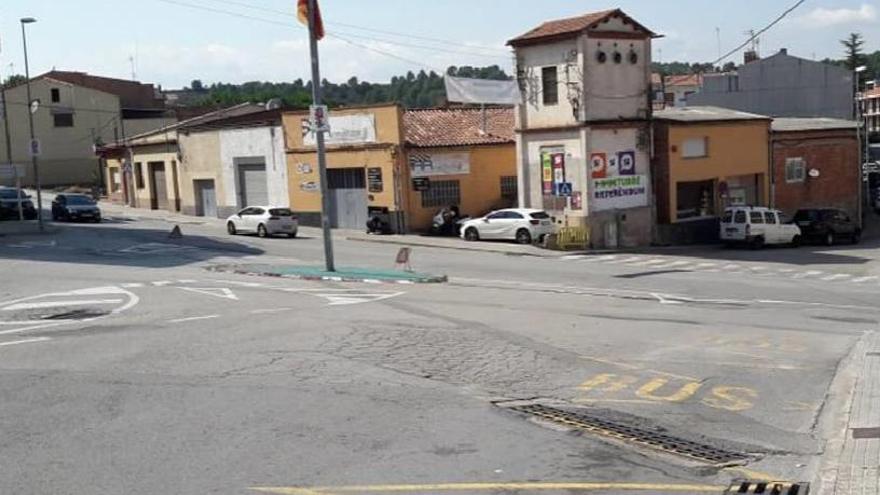 Navarcles ja té a punt el projecte per a la nova rotonda a l'entrada del poble