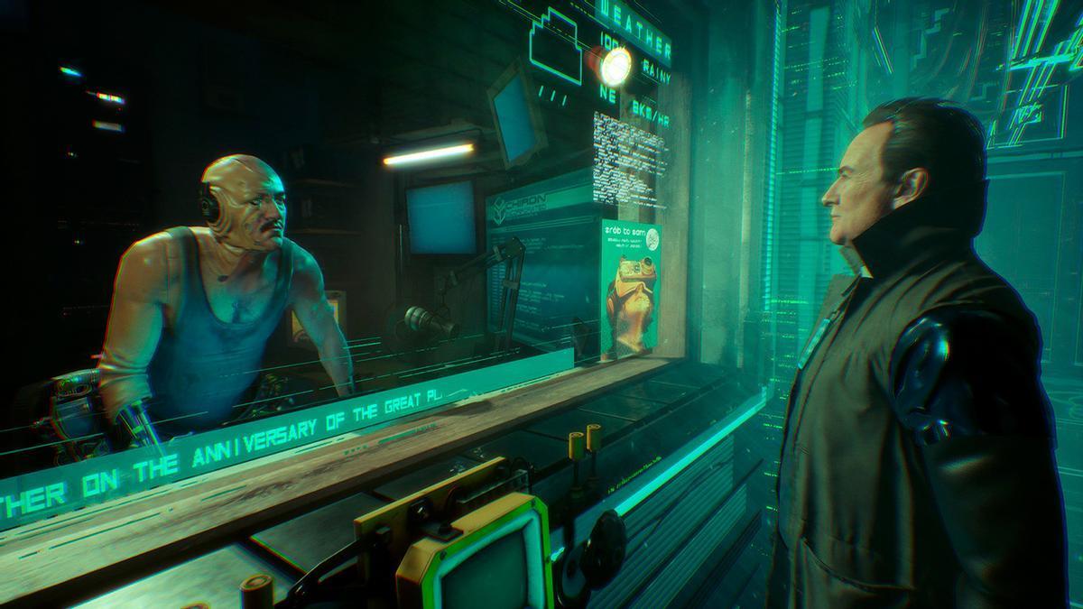Un fragmento del videojuego 'Observer: System Redux'.