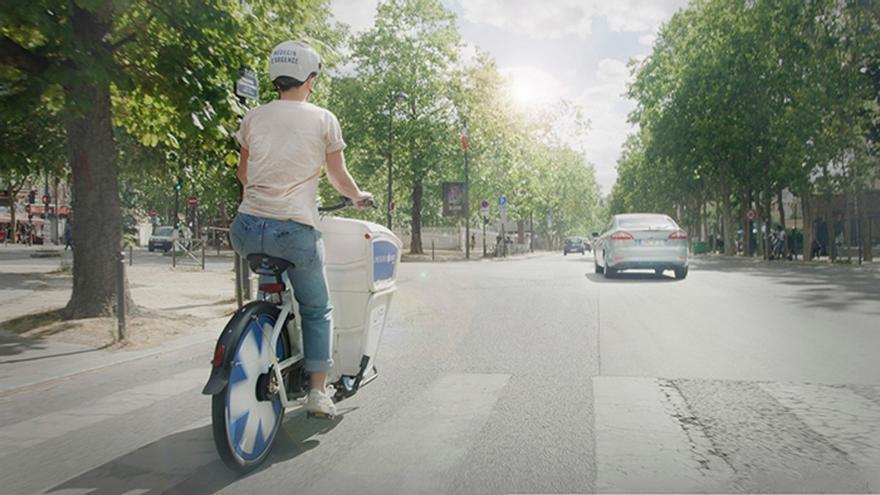 Emergency Bikes, las bicicletas eléctricas para médicos que funcionan en París