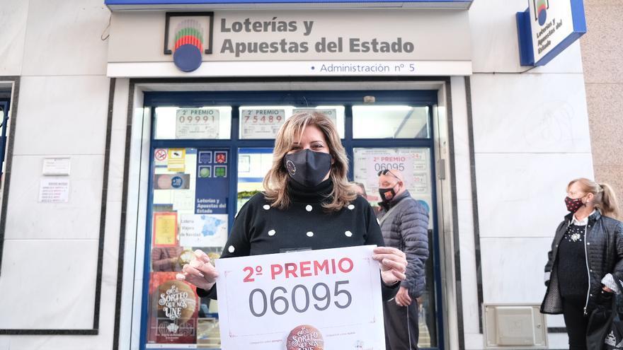 Elda y Petrer se reparten más de 25 millones de euros del segundo premio de la Lotería de Navidad