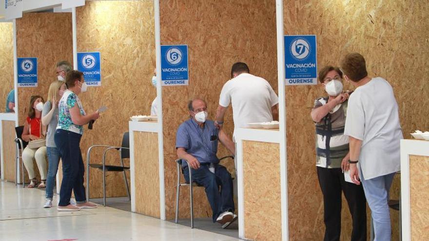 Ourense supera el millar de casos activos cuando roza la inmunidad de rebaño