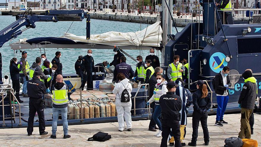 Juicio a dos búlgaros por  transportar 4.000 kilos de hachís en un velero al sur de Mallorca