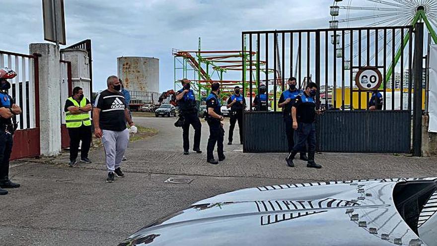 """Gran despliegue policial en """"La Semanona"""""""