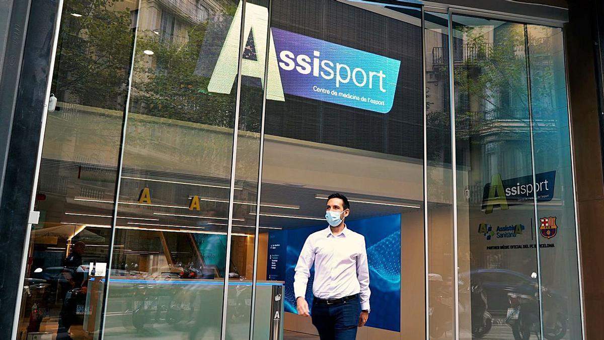Noves instal·lacions d'Assistència Sanitària, Assisport, al carrer Provença de Barcelona   ASSISTÈNCIA