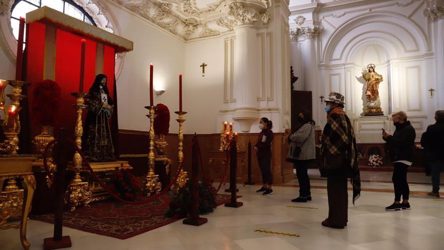 Devoción por el cristo de Medinaceli pese a la pandemia