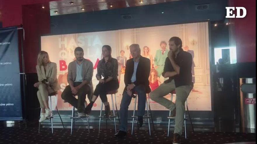 """Álex García asegura que fue """"una gozada"""" rodar en Tenerife"""