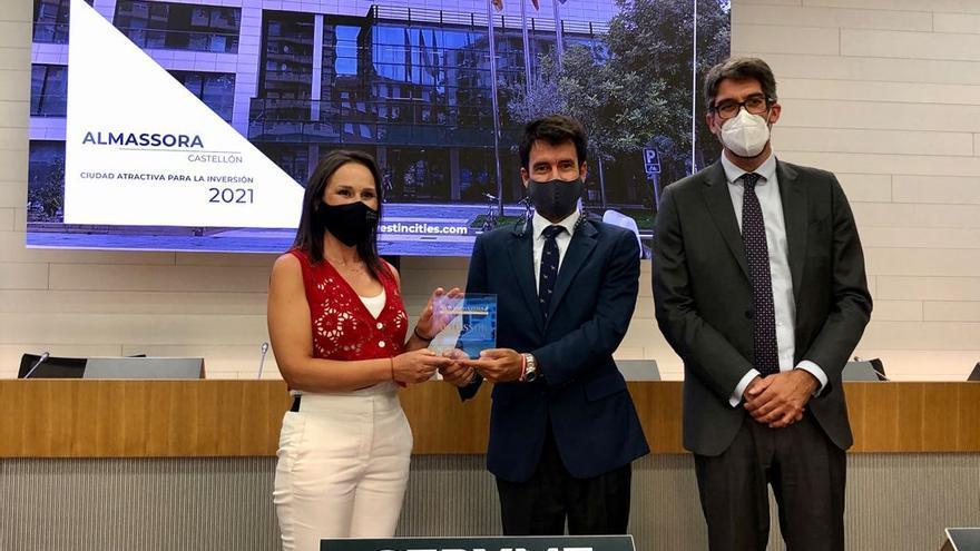 Premian a Almassora como ciudad atractiva para invertir