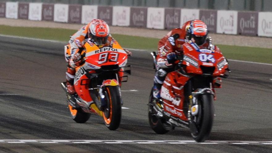 La FIM confirma la victoria de Dovizioso en el GP de Qatar