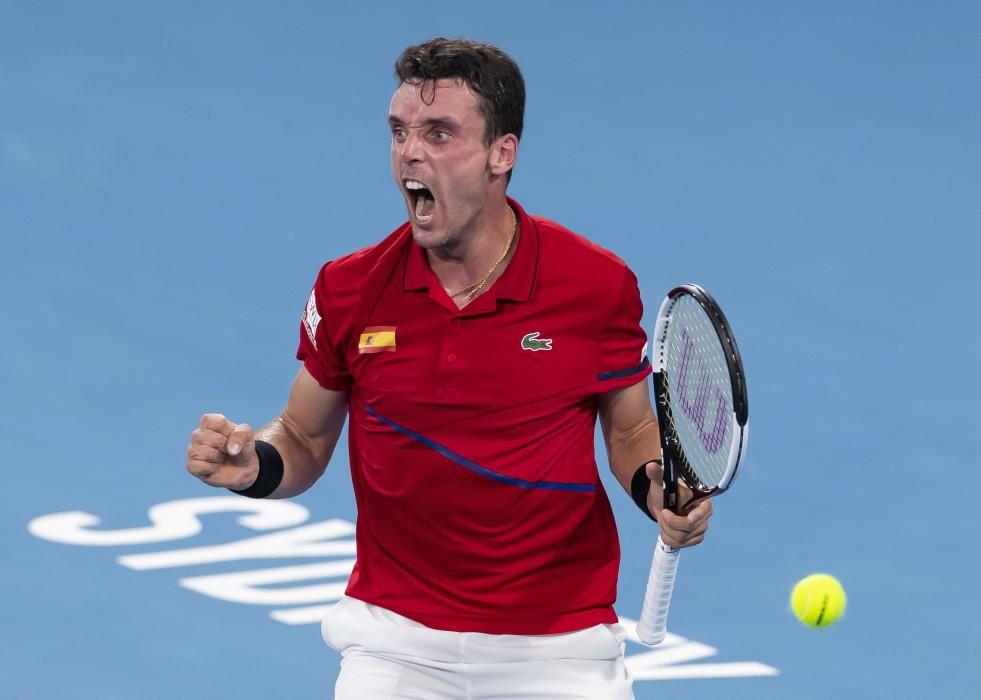 Roberto Bautista, tenis