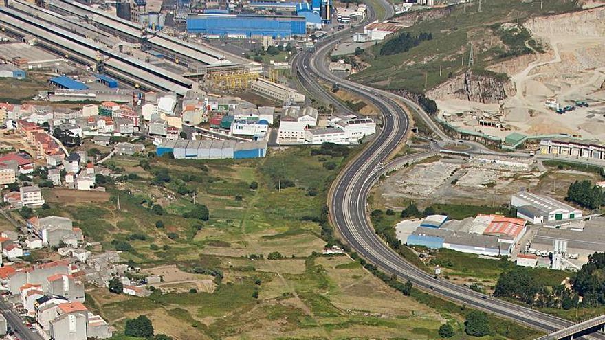 """El plan de accesibilidad prevé crear """"un gran parque"""" entre la presa de Meicende y O Petón"""