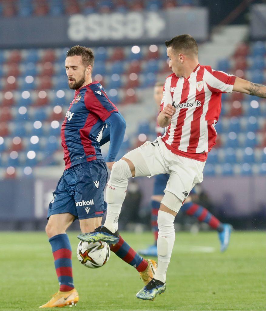Levante UD - Athletic Club. semifinal de la Copa del Rey
