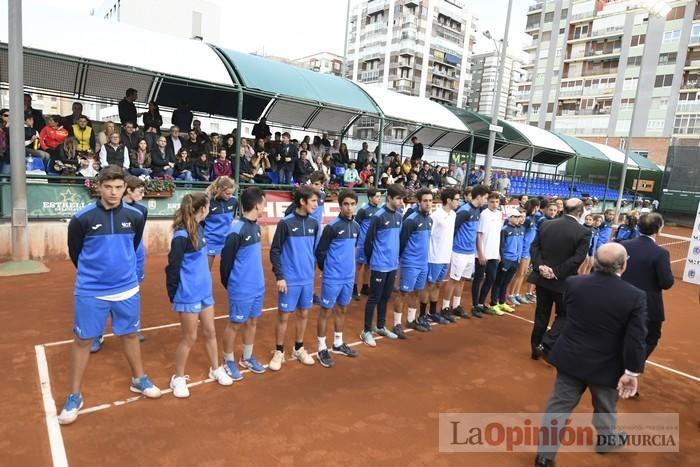 Murcia gana el campeonato nacional de tenis
