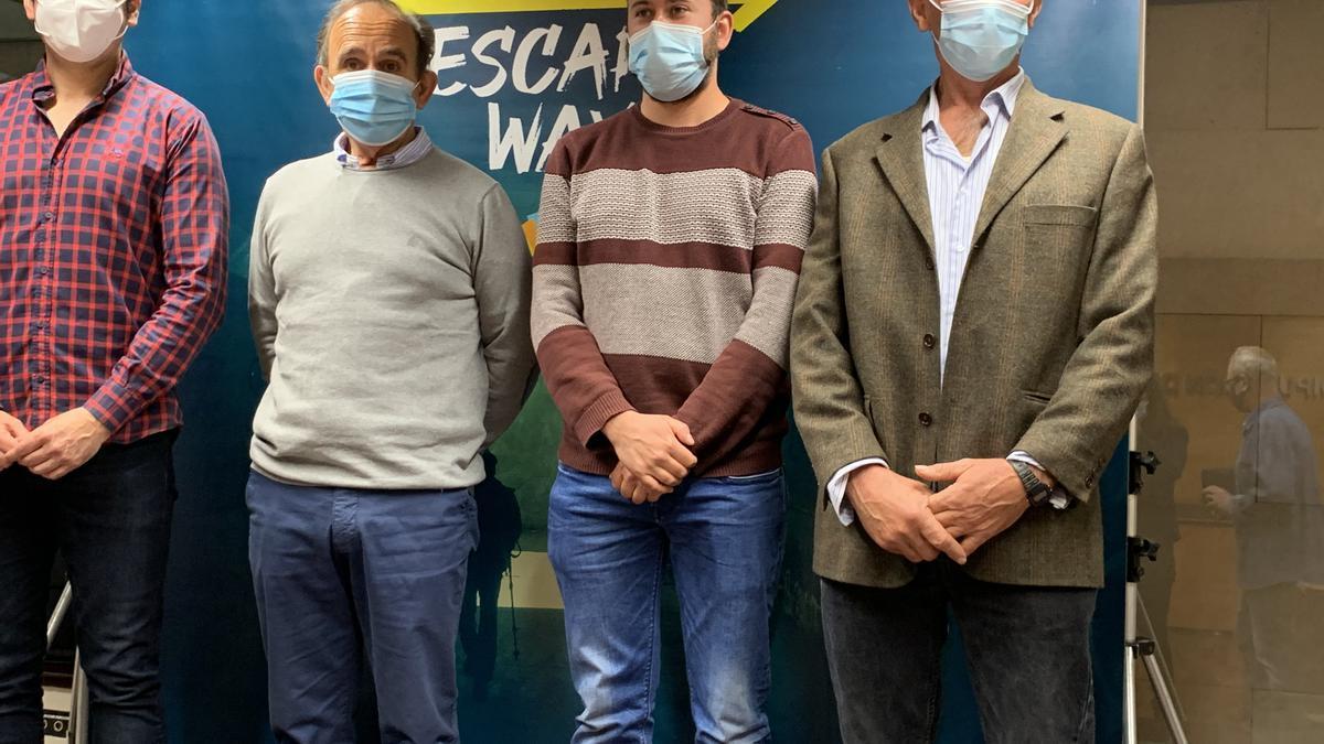 La presentación de esta Escape Room se ha realizado en Huesca.