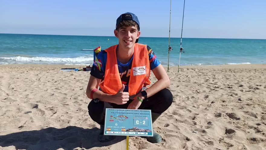 Un joven de Almassora, campeón del mundo de pesca deportiva
