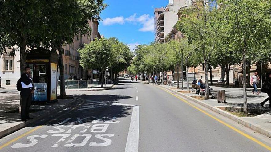 Avinguda d'Alemanya in Palma ist nicht mehr faschistisch