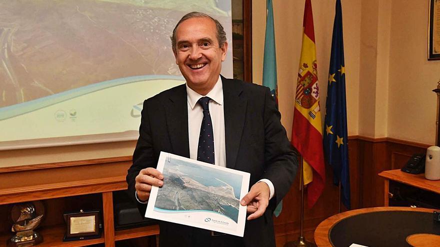 """El Puerto considera que Cuentas confirma """"la adecuada gestión"""" de las obras de Langosteira"""