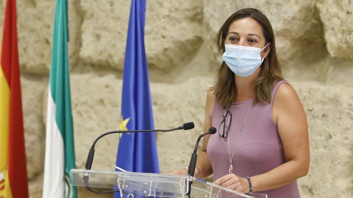 La concejala socialista Isabel Ambrosio.