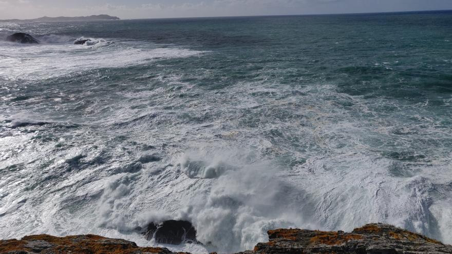 Las rachas de viento superan los 100 km/h en el norte de Lugo, en alerta amarilla