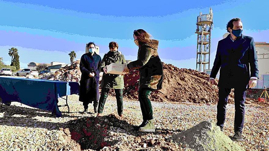Arrancan las obras de las primeras VPO de Santanyí